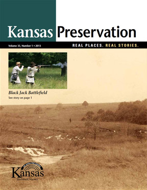 Kansas Preservation, Volume 35, Number 1, 2013