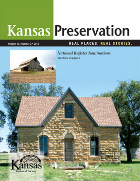 Kansas Preservation, Volume 35, Number 2, 2013