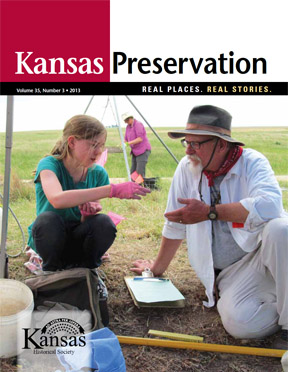 Kansas Preservation, Volume 35, Number 3, 2013