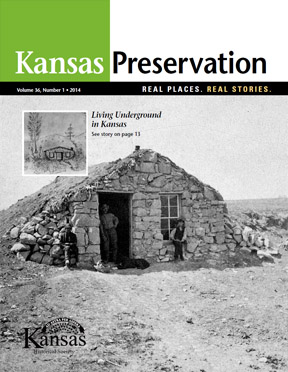 Kansas Preservation, volume 36, number 1