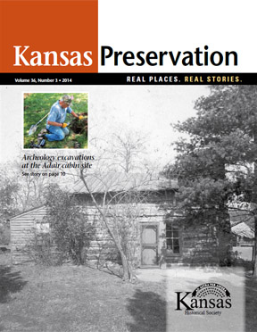 Kansas Preservation, Volume 36, Number 3, 2014