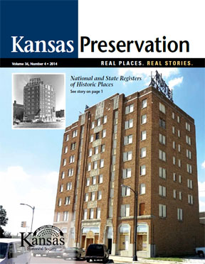 Kansas Preservation, Volume 36, Number 4, 2014