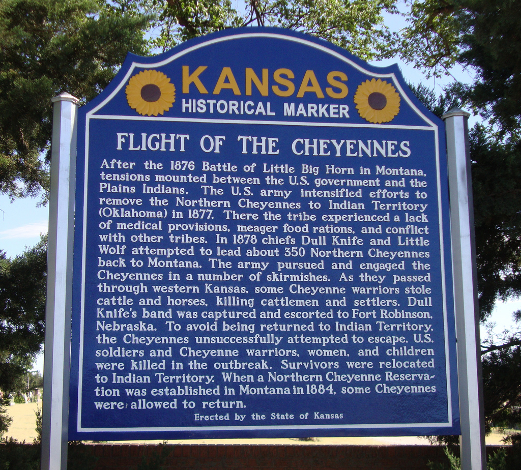 Flight of the Cheyennes