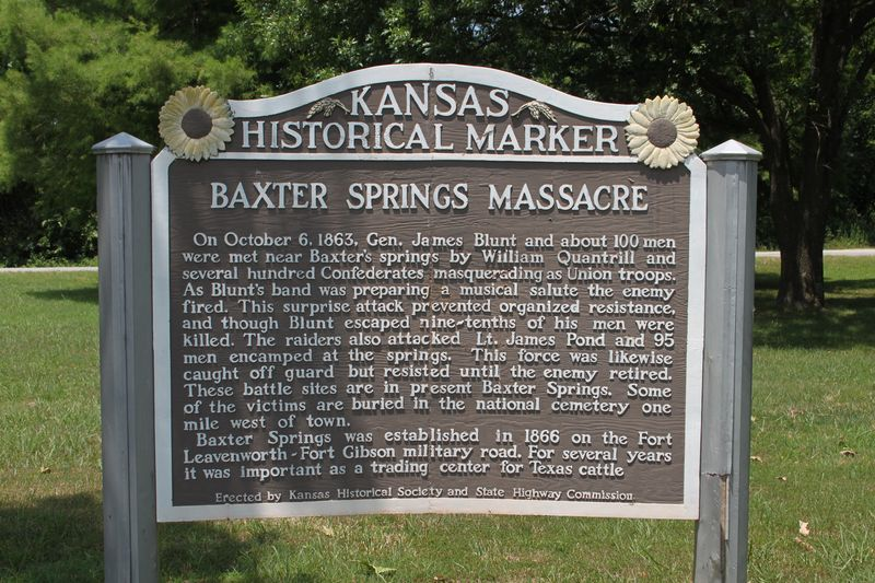 Kansas Historical Markers - Kansas Historical Society