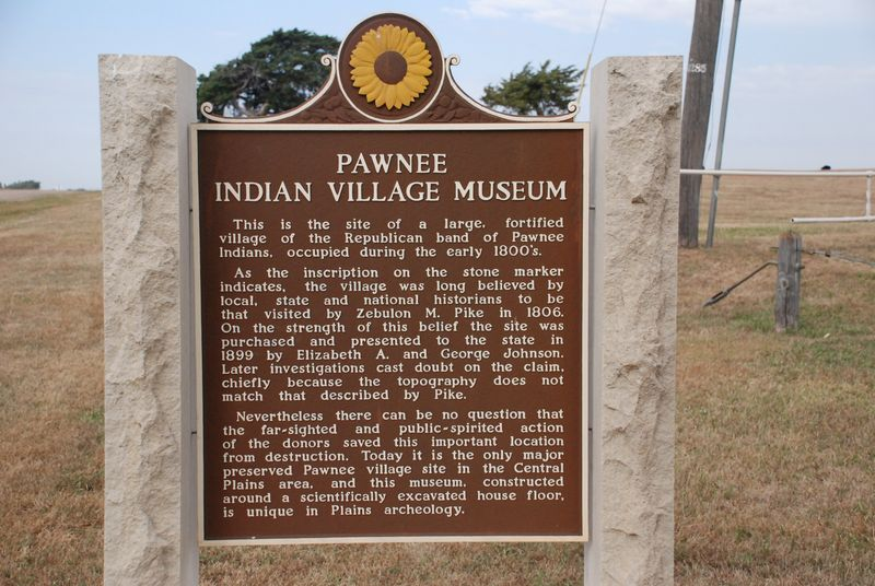 Pawnee Indian Village