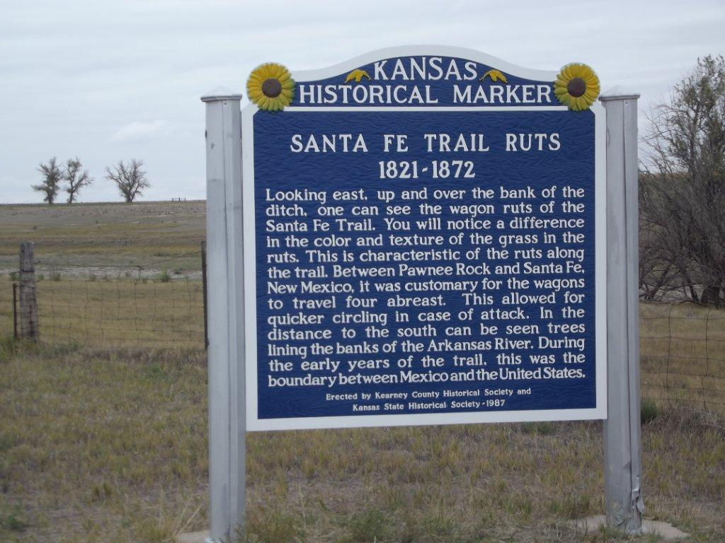 Kansas Historical Markers Society 2nd Judicial Circuit Maps Looking East