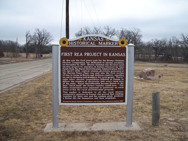 First REA Project in Kansas