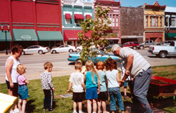 Franklin County tree planting