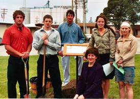 Mitchell County tree planting