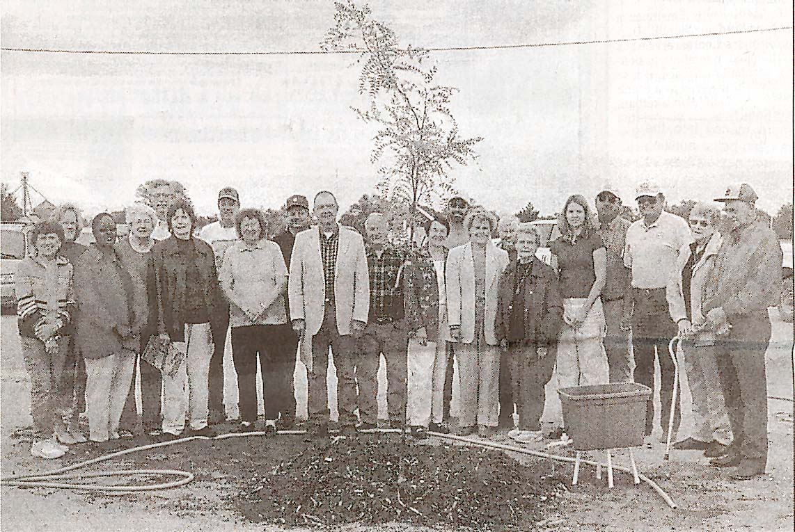 Rooks County tree planting