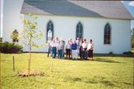 Republic County tree planting
