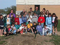 Sheridan County tree planting