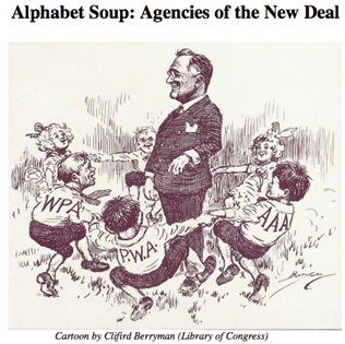 Alphabet Soup: Agencies of the New Deal