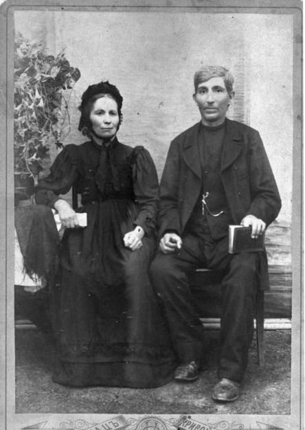 Mennonite couple