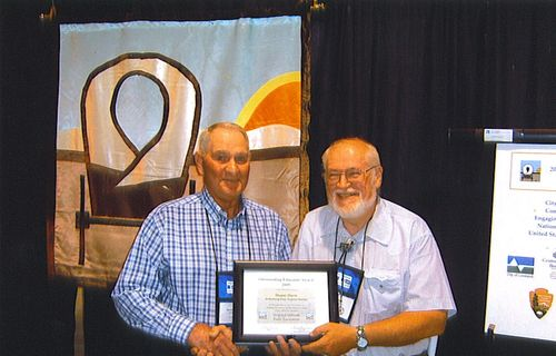 Duane Durst (left) OCTA Educator of the Year 2009