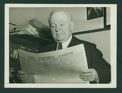 William Allen White editor of Emporia Gazette