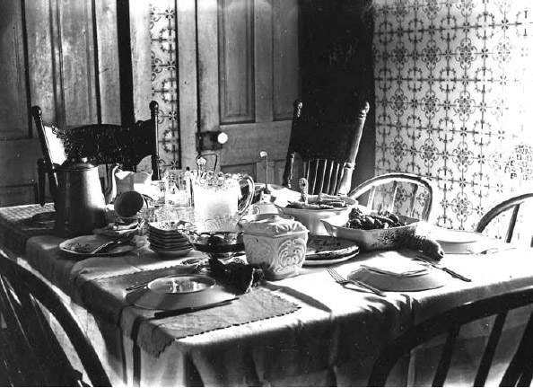 An officers' dining