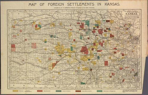 Immigrant Settlements in Kansas