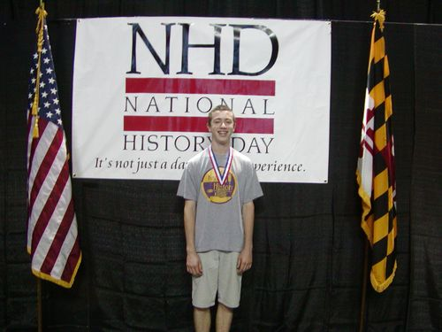 Alex Rankin, Nationals Jr. historical paper, 1st place