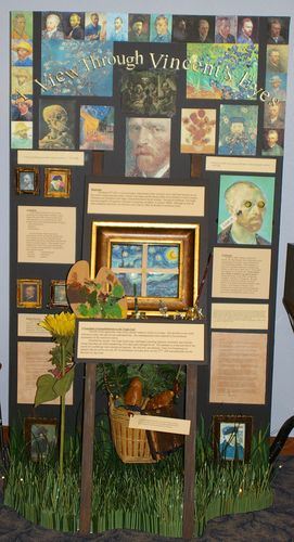"Grace Clark, Jr. Individual Exhibit, ""A View Through Vincent's Eyes"""