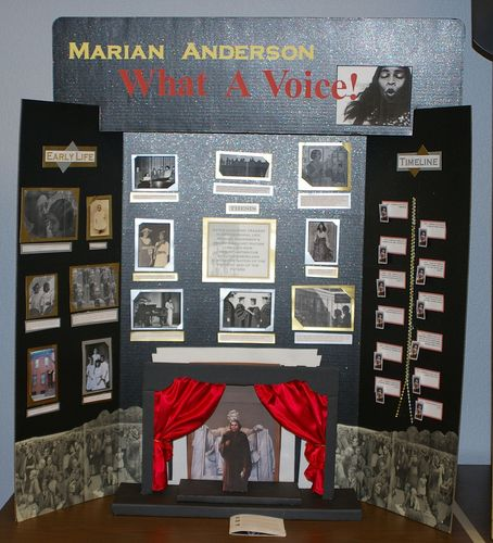 Ana Anderson, Jr. Individual Exhibit, Marian Anderson - What a Voice