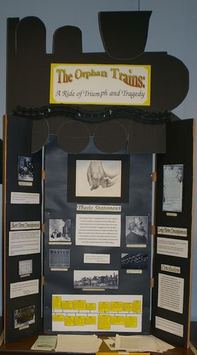 "Daniel Kennedy, Jr. Individual Exhibit, ""The Orphan Train"""