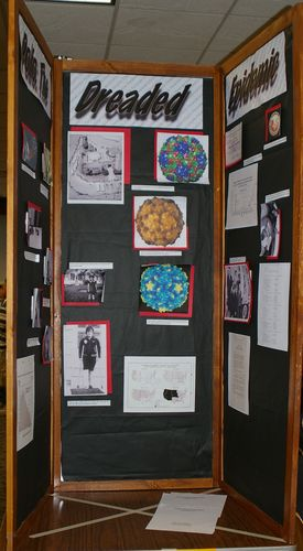 "Tori Wilson, Jr. individual exhibit, ""Polio:  The Dreaded Epidemic"""