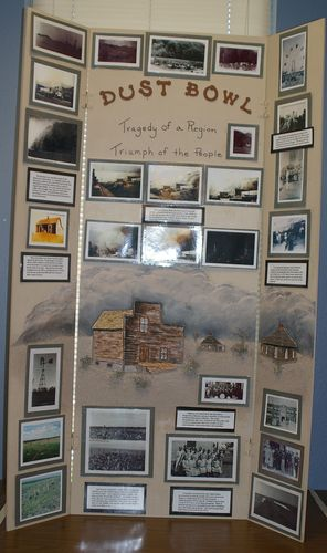 "Taylor Link, Jr. individual exhibit, ""the Dust Bowl:  Tragedy of a Region"""