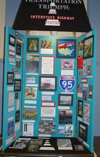 "Jr. Group Exhibit, ""Transportation Triumph:  The Interstate Highway System"""
