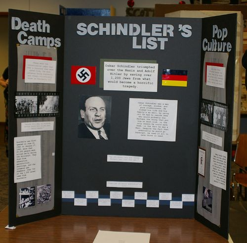 "Jr. Group Exhibit, ""Schindler's List"""