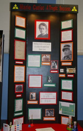 "Frank and Stone, Jr. Group Exhibit, ""Marie Curie:  A Tragic Success"""