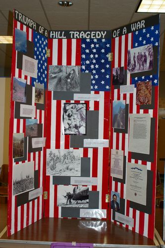 "Jr. Group Exhibit, ""Triumph of a Hill; Tragedy of a War"""
