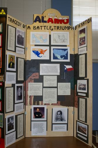 "Jr. Group Exhibit, ""The Alamo - Tragedy of a Battle; Triumph of a Nation"