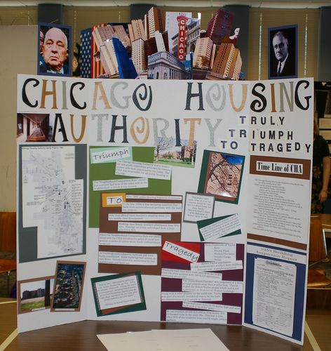 Senior Exhibit, Chicago Housing Authority