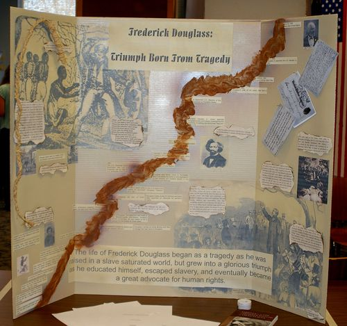 Senior Exhibits, Frederick Douglass: Triumph Born from Tragedy
