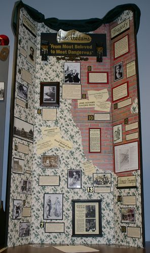Senior Group Exhibit, Jane Addams: From Most Beloved to Most Dangerous