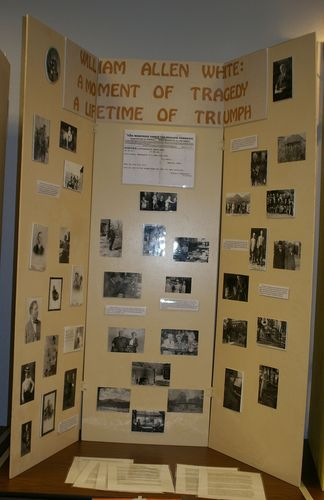 Senior Group Exhibit:  William Allen White: A Moment of Tragedy, a Lifetime of Triumph