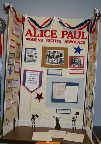 Senior Group Exhibit, Alice Paul: Womens Rights Advocate