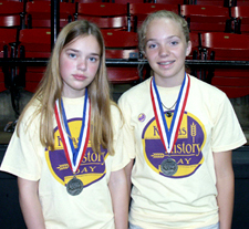 Hammer and Hamilton, second place, junior group documentary