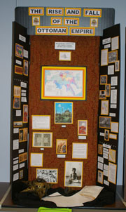 Senior Individual Exhibit, The Rise and Fall of the Ottoman Empire, Sydney Lippman, Wamego