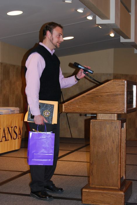 Kansas History Day Teacher of the Year - Travis Lamb - Topeka Collegiate