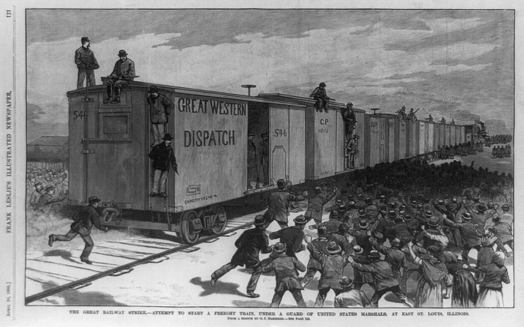 Great Railroad Strike 1886
