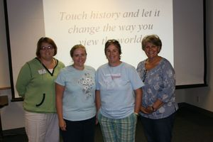 Some of the participants who have learned to change students' views of history