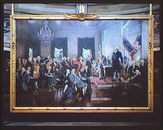Painting--Signing the Constitution