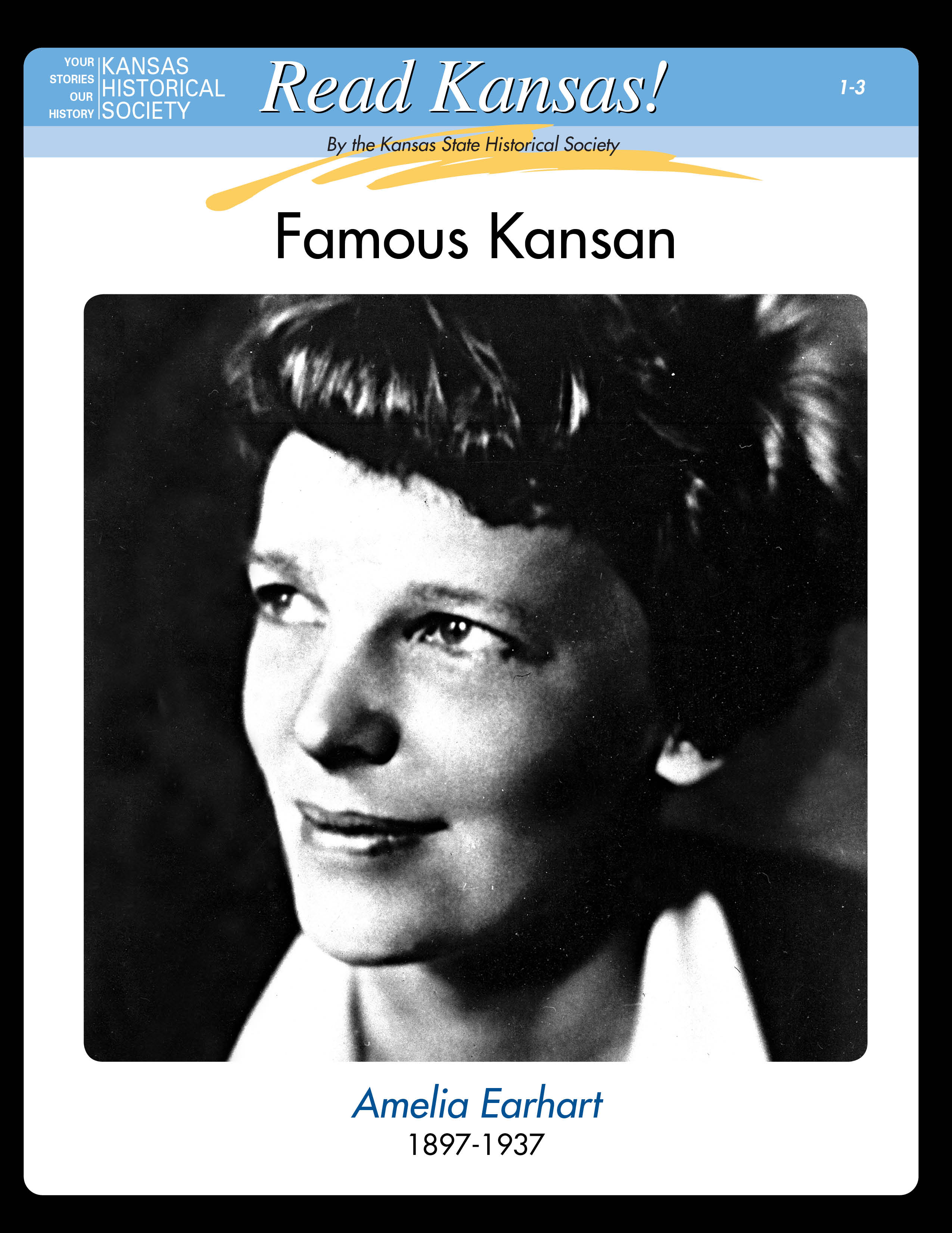 Read Kansas!: I-03 Famous Kansans