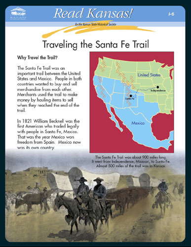 I-6 Trade and Migration on the Overland Trails