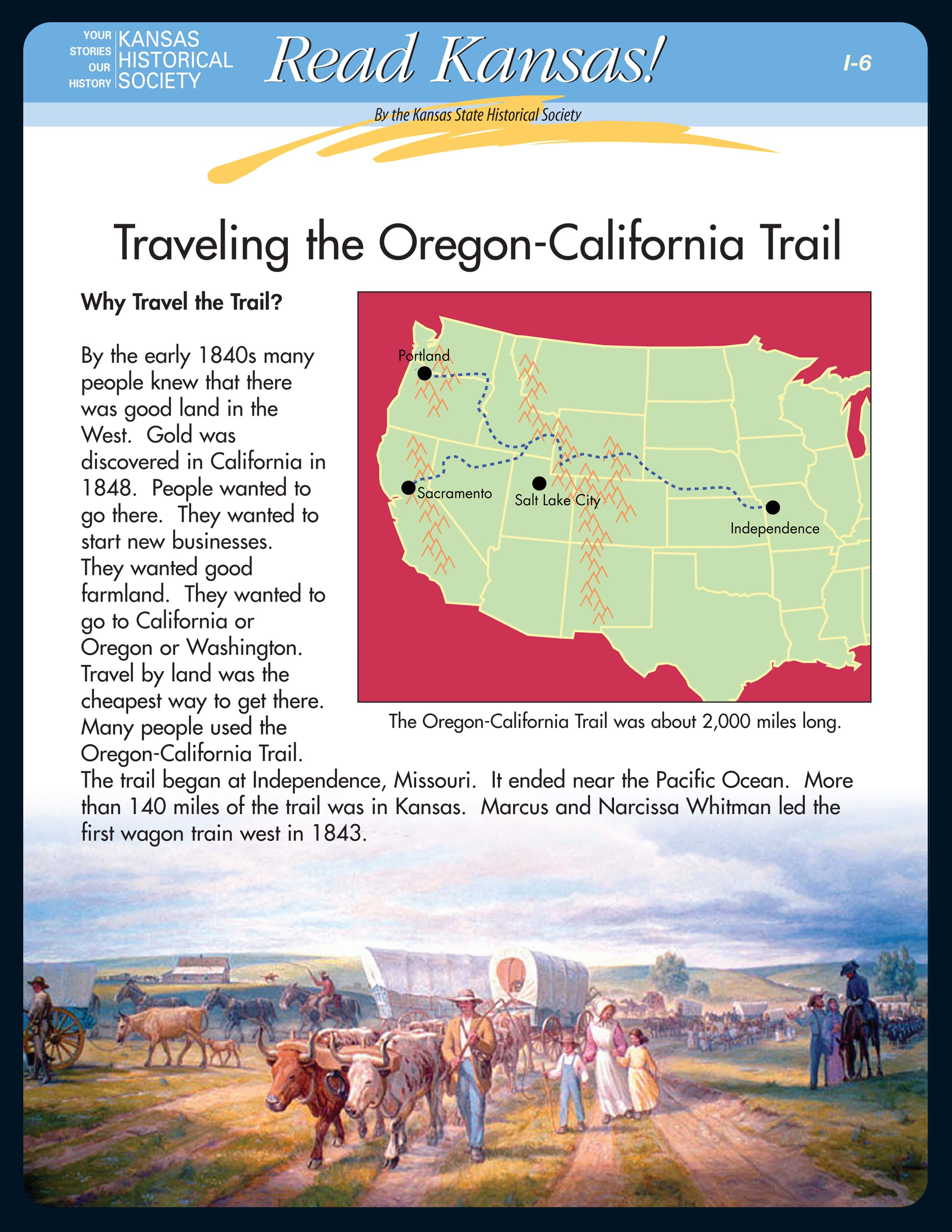 I - 6 Trade and Travel on the Overland Trails