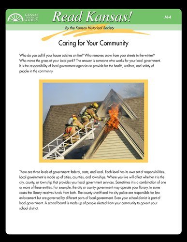 M - 4 Caring for Your Community