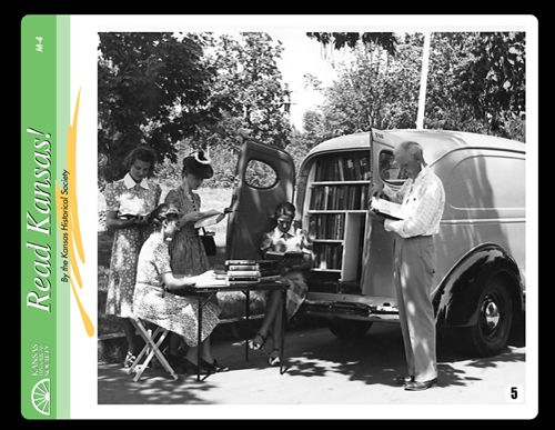 1940's Library Bookmobile