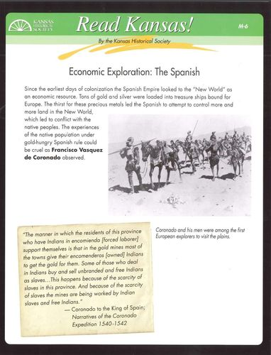 M-6 Economic Exploration: The Spanish